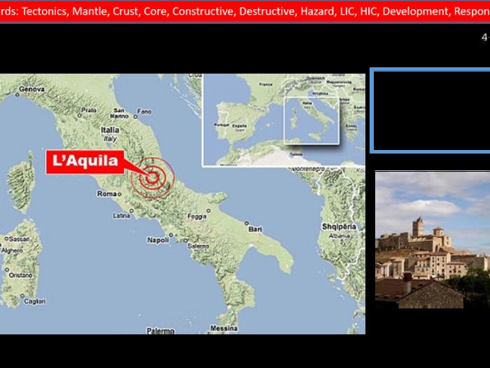 laquila earthquake case study gcse