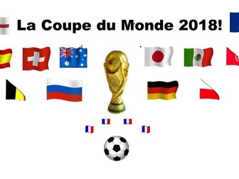 World Cup 2018 French Lesson. La Coupe du Monde 2018
