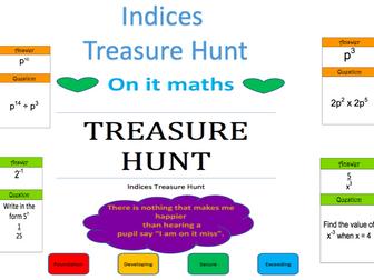 Indices - Treasure Hunt