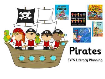 EYFS Literacy Planning Pirates