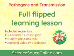 FLIPPED LEARNING: Pathogens and Transmission