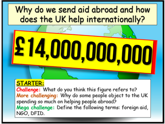 Foreign Aid + NGOs