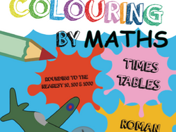 Colouring by Maths for Year 3 and 4