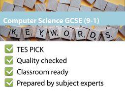 GCSE Computer Science 9-1 – Keywords revision