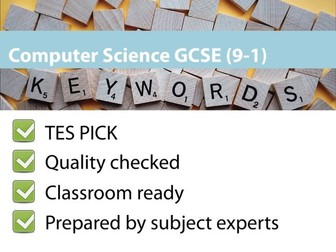 GCSE Computer Science 9-1 – Keywords revision
