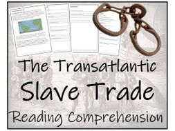 UKS2 History - The Slave Trade Reading Comprehension Activity