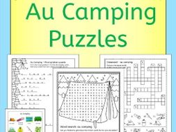 French Camping Puzzles