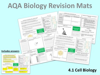 AQA Cell Biology Revision Mats