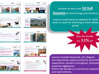 KS3 Ecology SoW