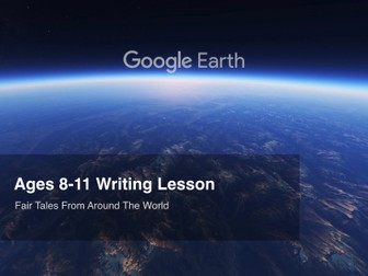 Google Earth Education Writing Lesson: Fairy Tales From Around the World #GoogleEarth