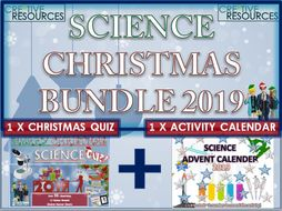 Science Christmas Quiz Advent Calendar 2019