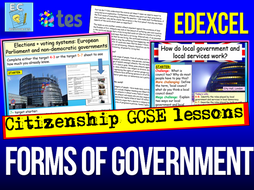 Forms of Government Edexcel Citizenship
