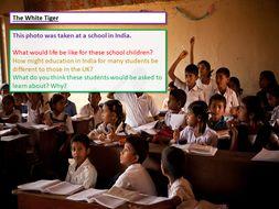 AQA English Language Paper 1 - The White Tiger