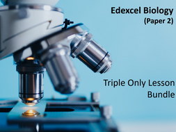 Edexcel Biology Paper 2- Separate Biology Only Lessons