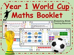 Year 1 Football World Cup 2018 Maths Booklet