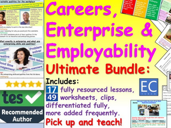 Ultimate Careers, Employability + Enterprise