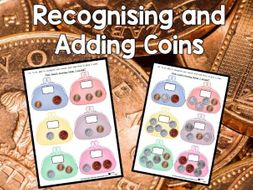 Recognising and Adding Coins