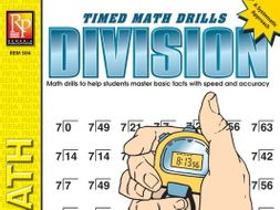Division: Timed Math Drills