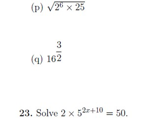 Indices worksheet (with detailed solutions)