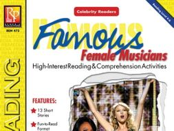 Celebrity Readers: Female Musicians