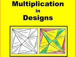 MULTIPLICATION ... Color-coded MATH Designs