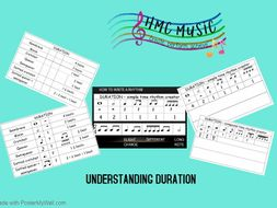 Understanding Duration Bundle- Note lengths,their names and using them to create interesting rhythms