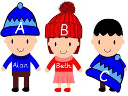 Boys and Girls Alphabetical