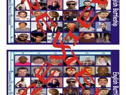 Celebrities Acting Irresponsibly Battleship Board Game