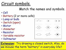 Electricity: Switches and Current Year 7 Lesson PowerPoint (KS3 7Ja ...