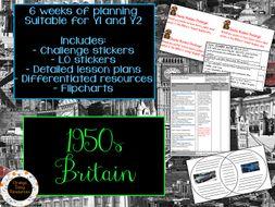 1950s Britain Topic