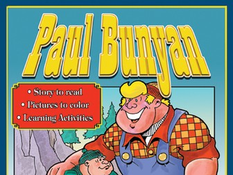 Paul Bunyan: Read & Color