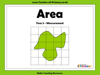 Area - Year 5