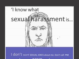 Sexual Harassment Hot Seating Lesson and poster, Read My Body Language , Healthy Relationship Quiz Bundle (UK)