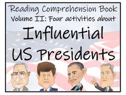 UKS2 History - Influential US Presidents Volume II Reading Comprehension Book