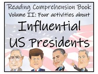 UKS2 History - Influential US Presidents Volume II Reading Comprehension Book