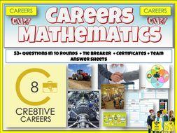 Maths Careers Quiz Lesson