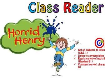Horrid Henry and the Bogey Babysitter group reader (low ability)