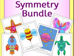 Symmetry Bundle - Space, Bugs and Sea Creatures