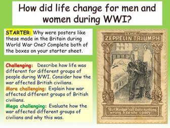 Impact of World War I