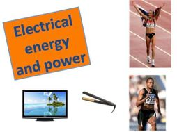 Electrical Energy & Power