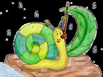 The Snail Sets Sail, Hannah's Phonic Stories, ai sound