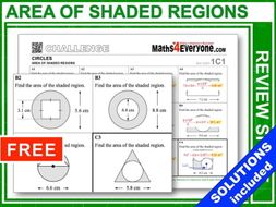 Shaded Areas (GCSE Topic Review)