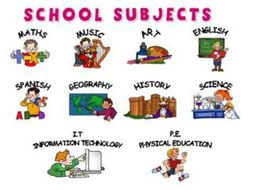 reading exercises worksheet school subjects year 7 by