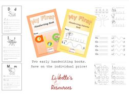 Early Handwriting Booklets Bundle