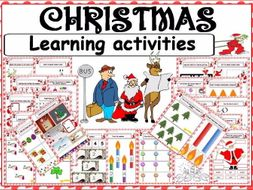 CHRISTMAS learning and fun activities