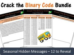 Crack the Binary Code – Seasonal Monthly Messages (Save £10)