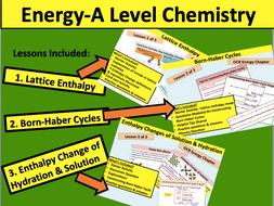 Energy (A Level Chemistry)