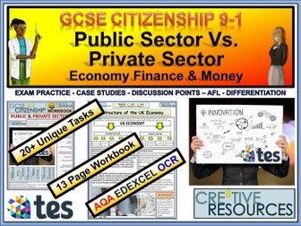 UK Economy Public Sector and Private Sector