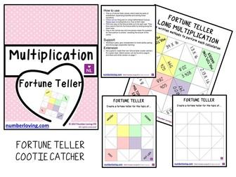 Long Multiplication Fortune Teller