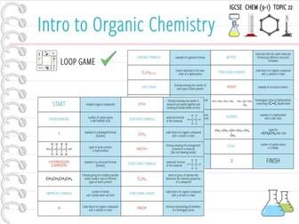 IGCSE Chemistry Topic 22: Intro to Organic Chemistry - Loop Game (KS4)